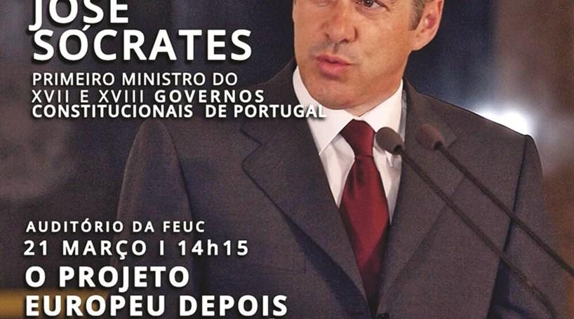 José Sócrates volta à Universidade para falar sobre a crise pré-troika