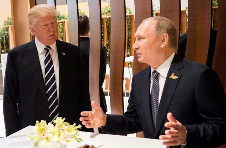Trump convida Putin para encontro na Casa Branca