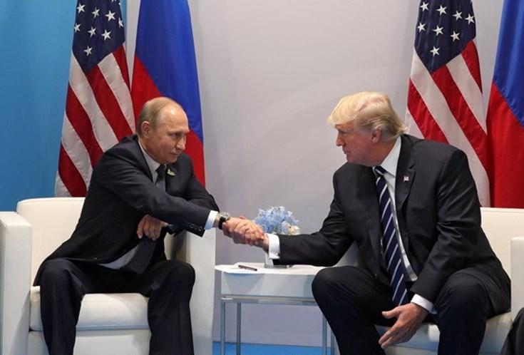Donald Trump propôs a Vladimir Putin um encontro na Casa Branca
