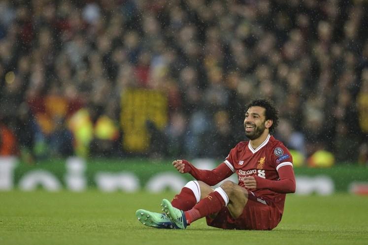 Salah é eleito melhor jogador da Inglaterra por jornalistas britânicos
