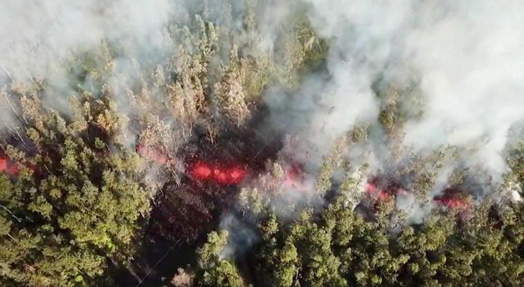 Havai: Vulcão Kilauea obriga à retirada de pessoas
