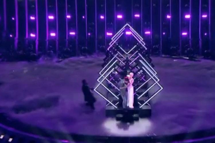 Invasor do palco da Eurovisão é um albanês emigrado no Reino Unido