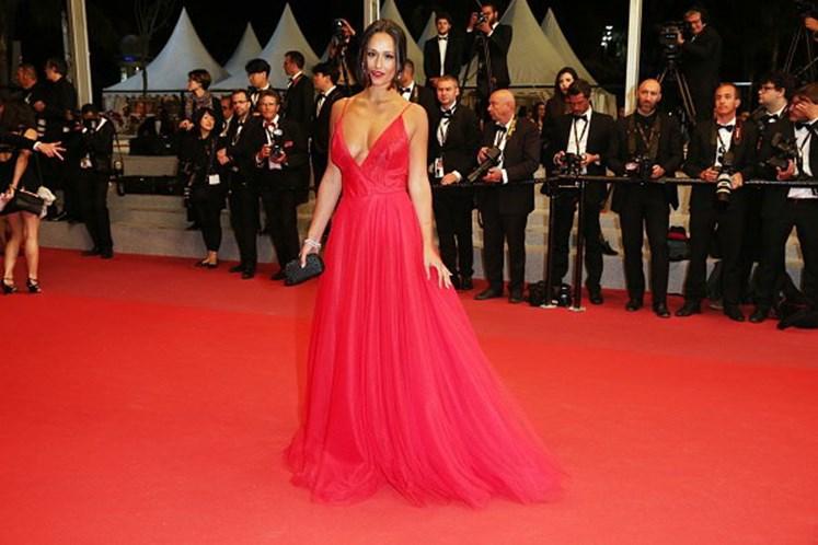 Rita Pereira em modo 'princesa' no Festival de Cannes