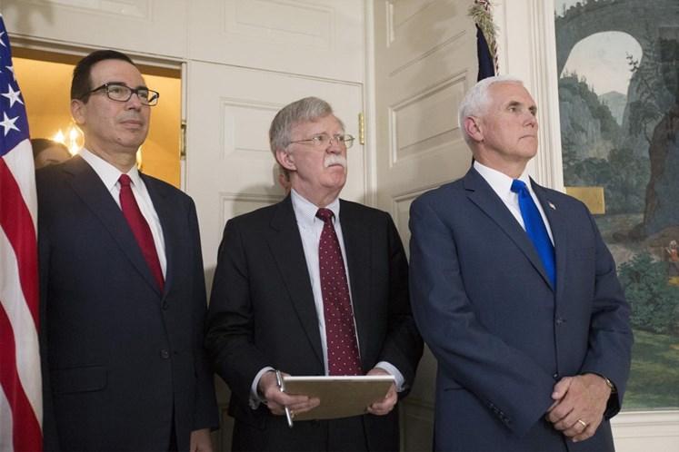 EUA não descartam sanções contra empresas europeias — Conselheiro de Segurança