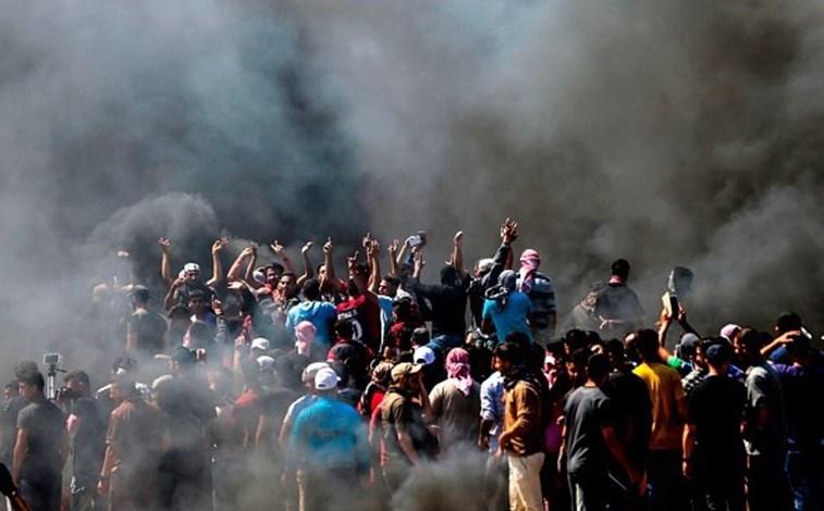 Número de mortos por protestos em Gaza chega a 60