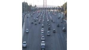 Dia de trânsito intenso