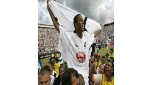 Robinho certo no Real Madrid