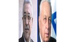 Sharon e Abu Mazen reúnem-se no Egipto
