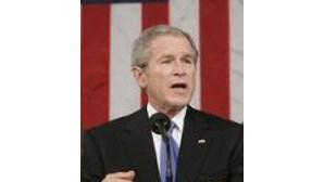 Bush alerta para dependência do petróleo