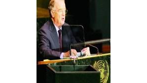 Sampaio defende ONU