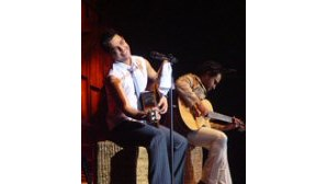 Zezé e Luciano em estreia nacional