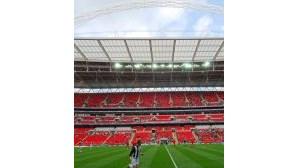 Novo Wembley foi ontem testado