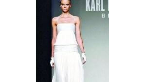 Desfile de Karl Lagerfeld em Barcelona