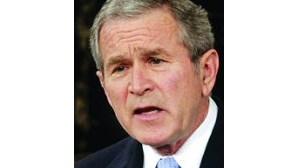 Bush veta lei sobre saúde