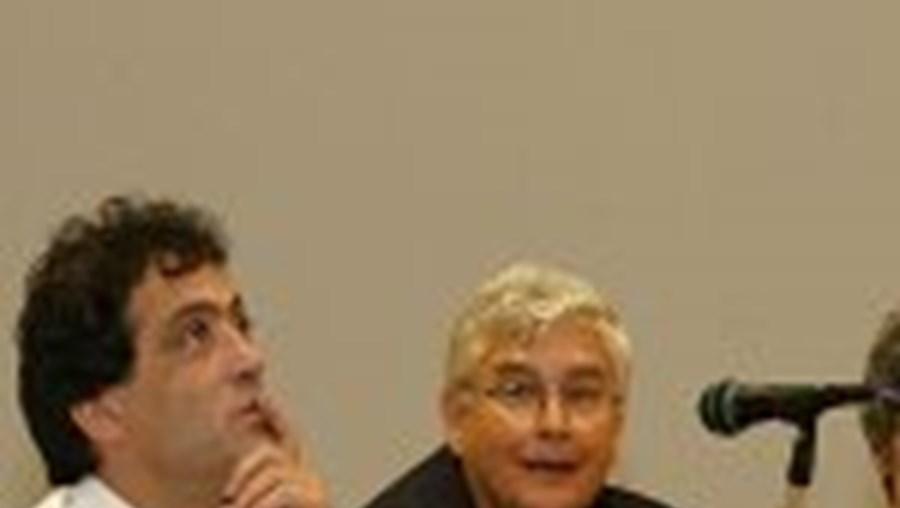 Carlos Carvalheiro (esquerda) e João Aguiar falaram do projecto