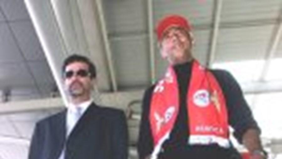 Luisão é hoje apresentado após Benfica - V. Guimarães