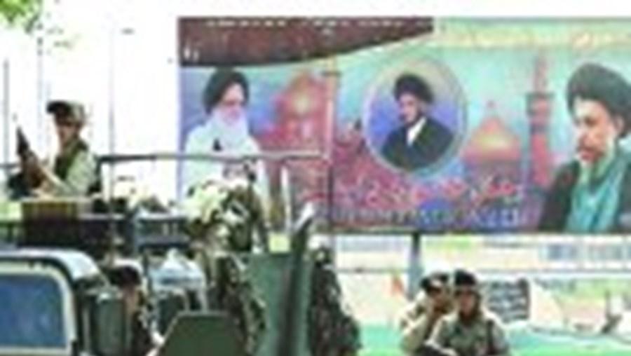 As tropas americanas e iraquianas estão prontas a avançar sobre o último reduto de al-Sadr
