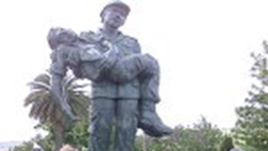 Monumento em Torres Vedras aos ex-Combatentes no Ultramar