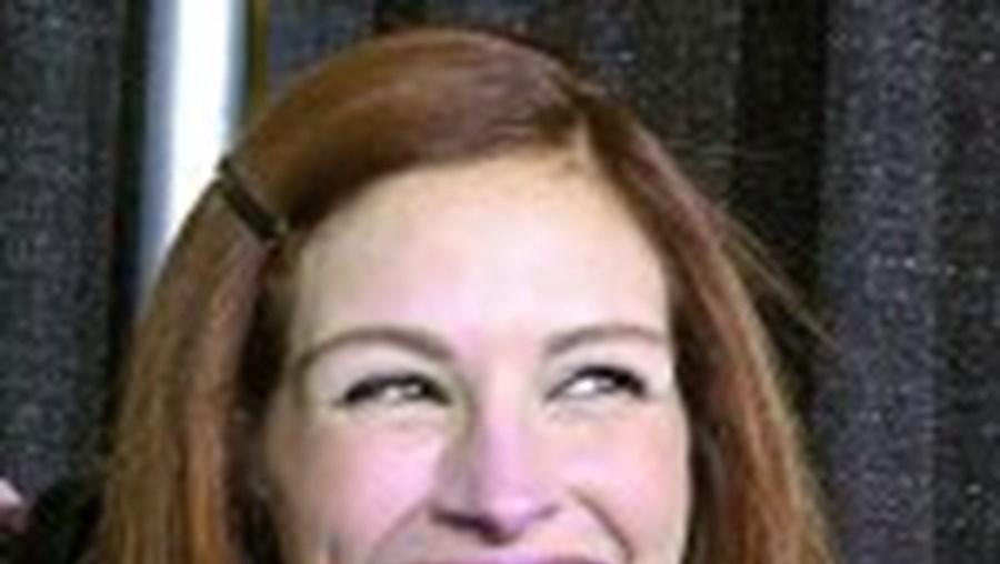 O sorriso largo de Julia Roberts