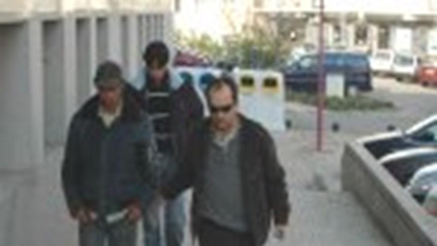O suspeito foi ouvido ontem no Tribunal Judicial do Fundão