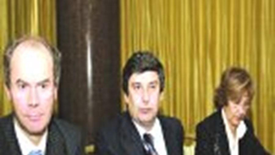 Borges de Oliveira, Paulo Fernandes e Laurentina Martins apresentaram a estratégia da Cofina