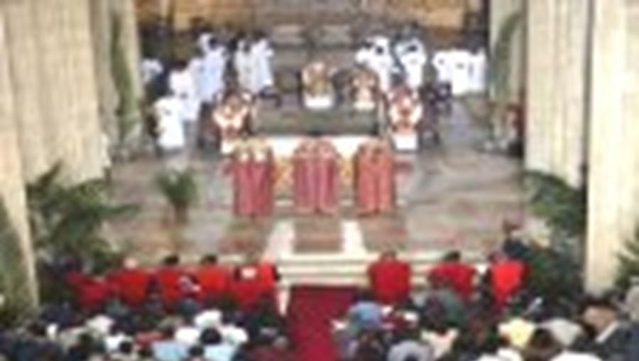 A falta de padres só não se sente nas igrejas principais