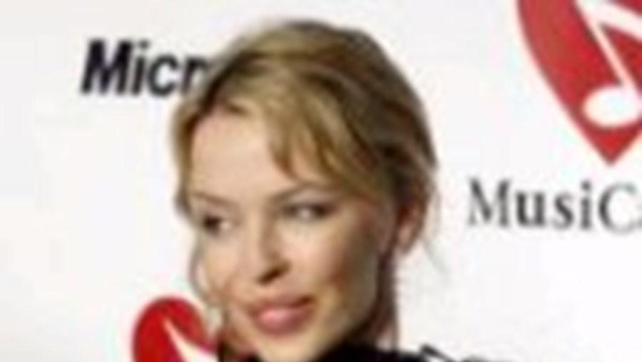 Kylie Minogue tem cancro na mama