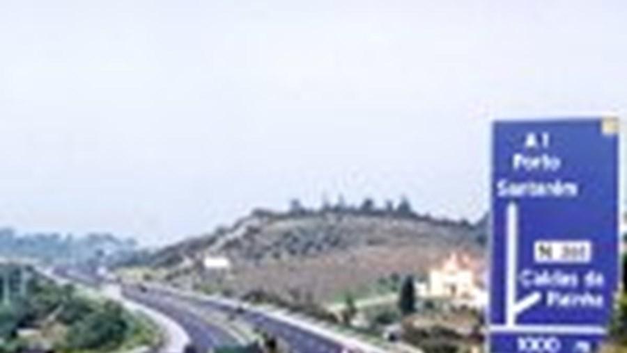 Devido ao aumento do tráfego, a A1 deverá contar com três vias em cerca de metade da sua extensão