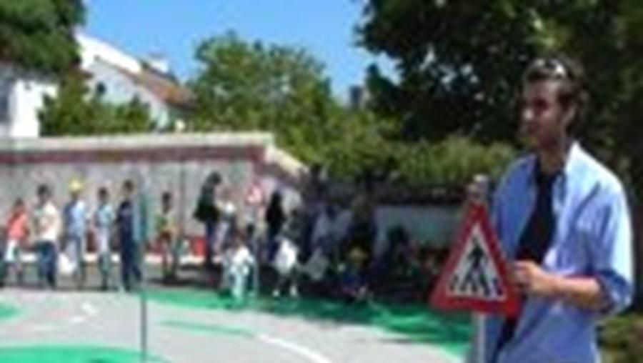 Crianças de Óbidos fazem Operação Stop