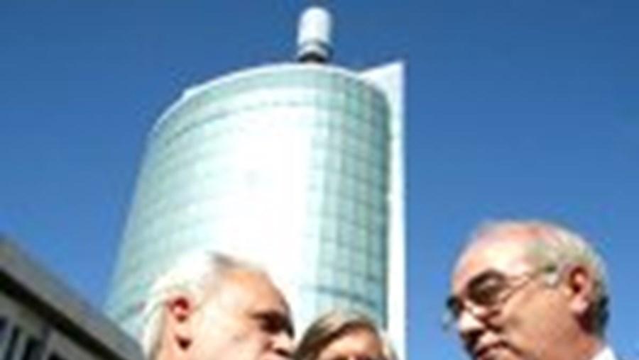 Mário Lino e Valentim Loureiro