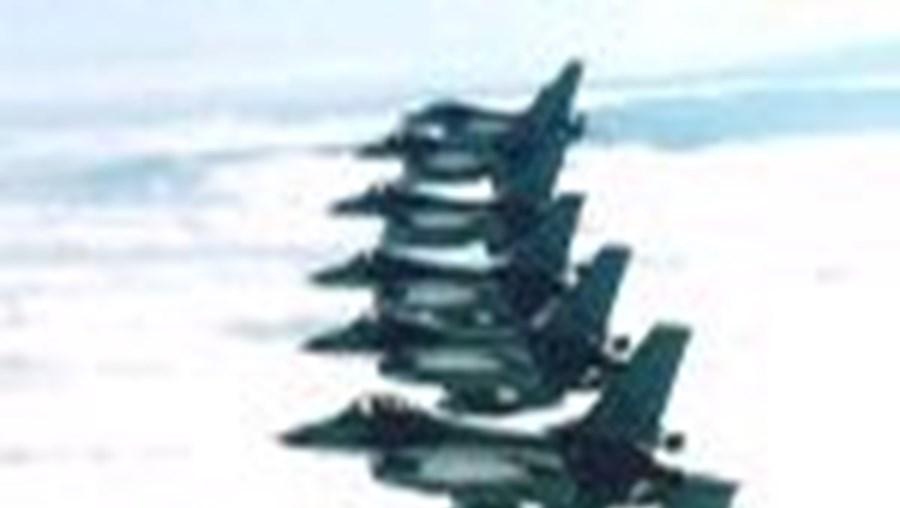 A aeronave foi interceptada por dois F-16 da Força Aérea, parelha que está em alerta constante