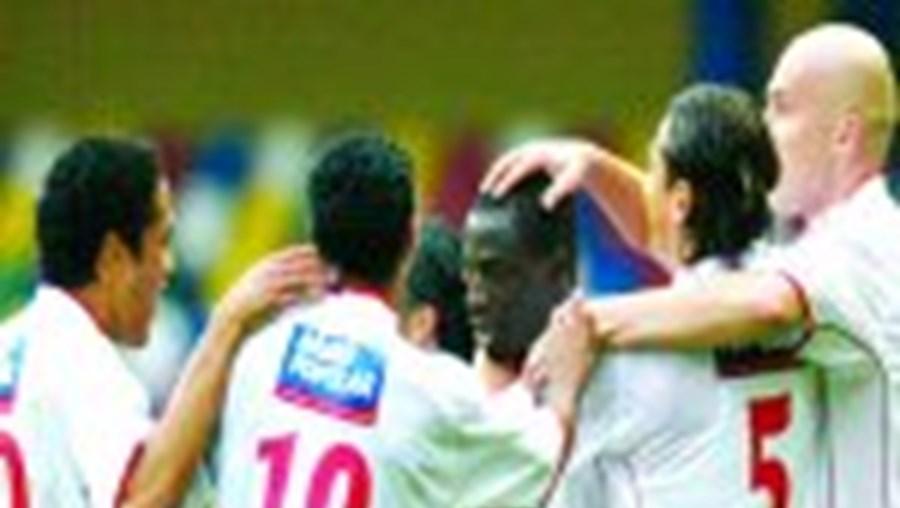 Lourenço bisou na última partida frente ao Gil Vicente