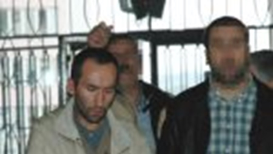 Jaime Marques assassino confesso, foi ontem conduzido ao Tribunal de onde seguiu para a cadeia da Covilhã, onde  vai ficar a aguardar julgamento