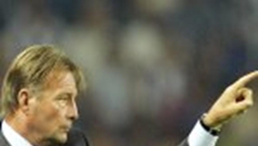 Co Adriaanse gostou da atitude da sua equipa, apesar da derrota na estreia da Liga dos Campeões