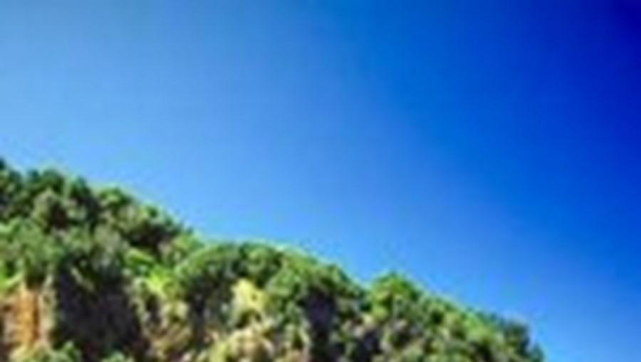Uma das ilha de Kermadec, nordeste da Nova Zelândia