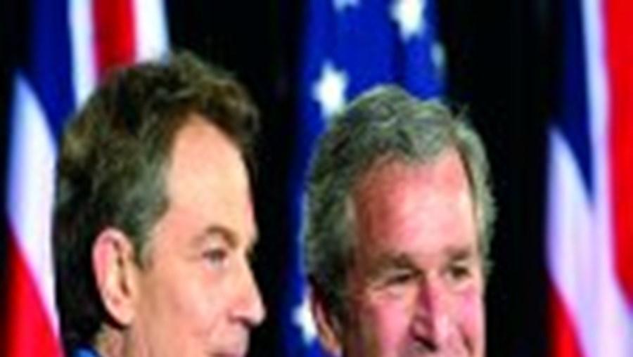 Blair debate com Bush um acordo para apoio ao continente africano