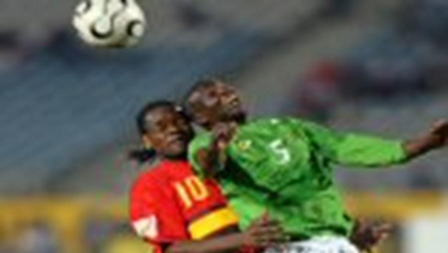 A selecção angolana não foi além da fase inaugural da CAN