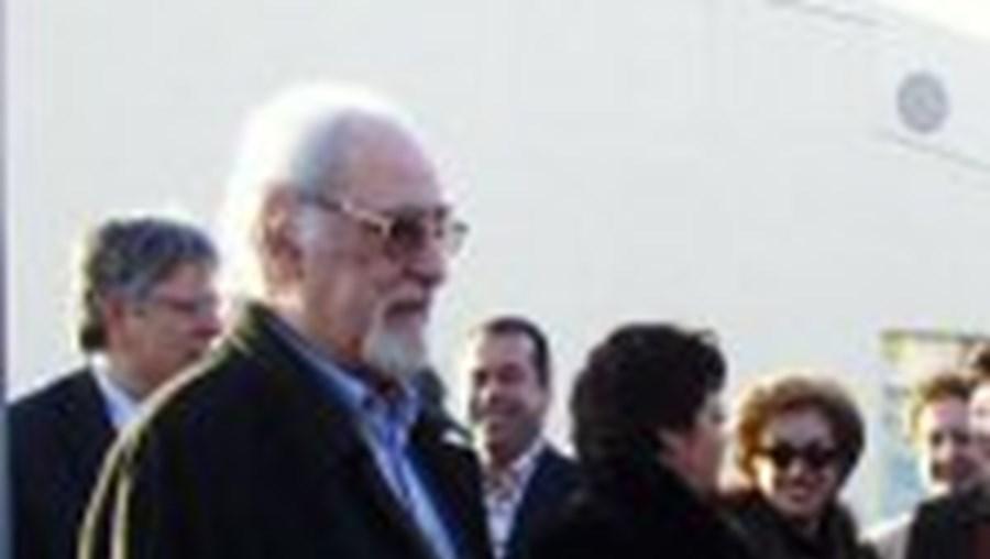 Ruy de Carvalho na inauguração do Teatro de Vila Real