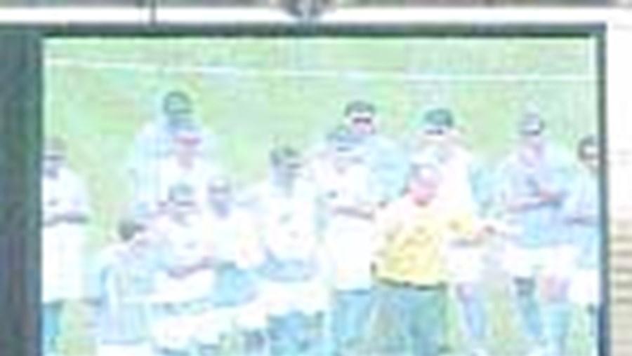 Até o treino do Brasil era exibido nos ecrãs