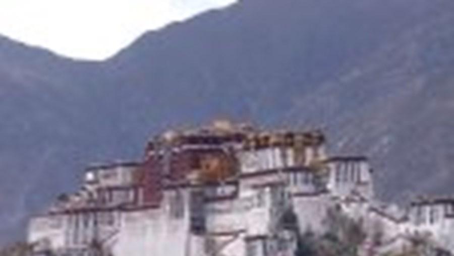Palácio Potala, em Lhasa