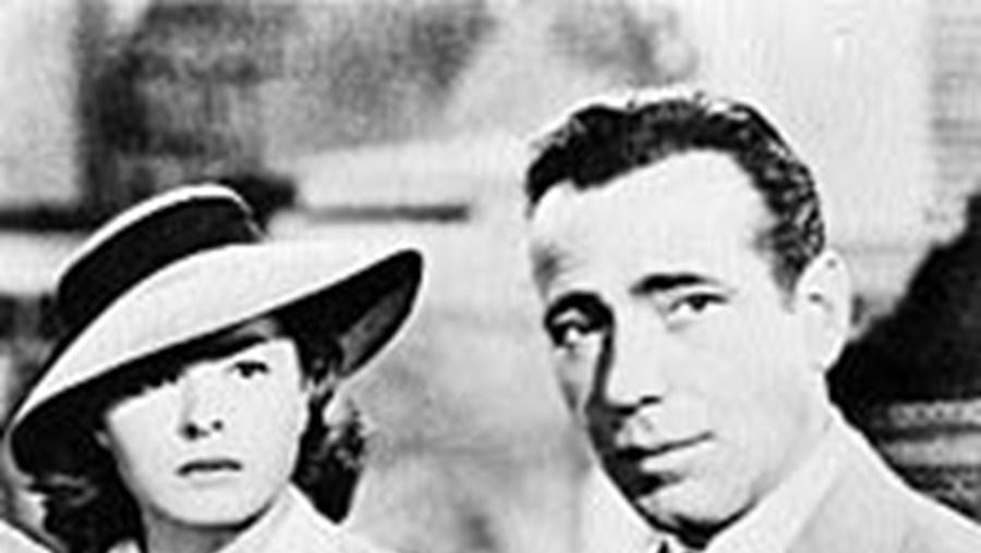 Bogart e Bergman em Casablanca