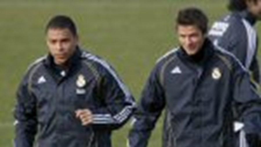 Ronaldo e Beckham estão de saída do Real Madrid