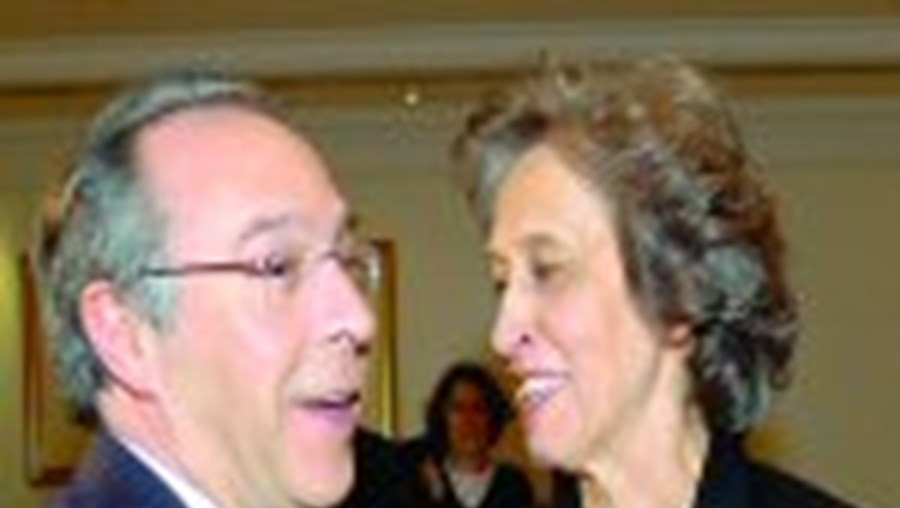 Marques Mendes e Ferreira Leite antes do Conselho Nacional