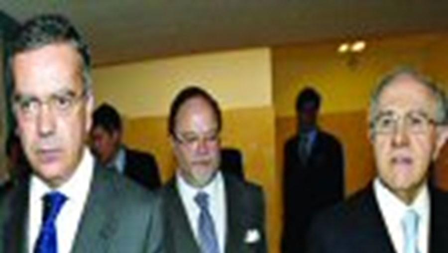 Paulo Teixeira Pinto e Jardim Gonçalves assistiram à assembleia do BPI
