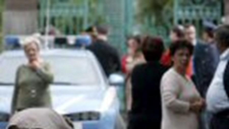 Menina polaca morta durante uma troca de tiros