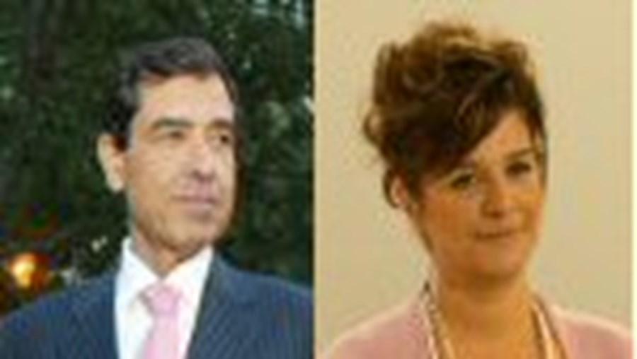 Natália Ferraz e Jorge Paula