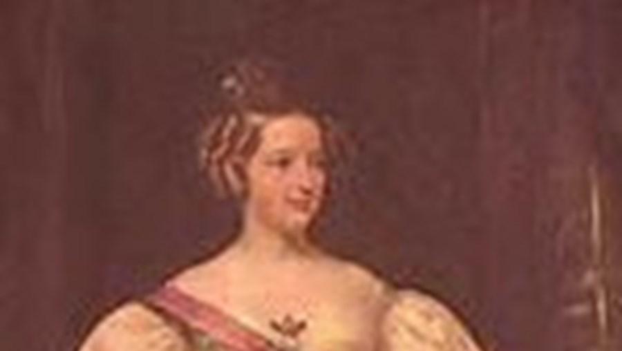 A rainha D. Maria II