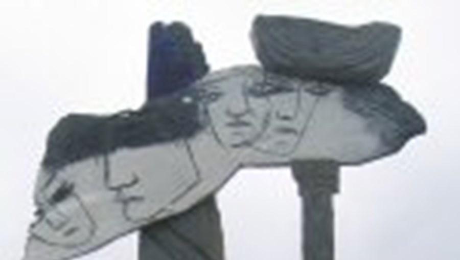 Escultura de Abílio Febra