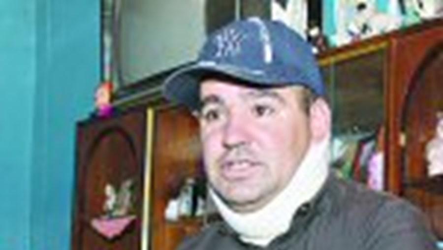Álvaro Simãozinho está revoltado com a falta de segurança na Urgência