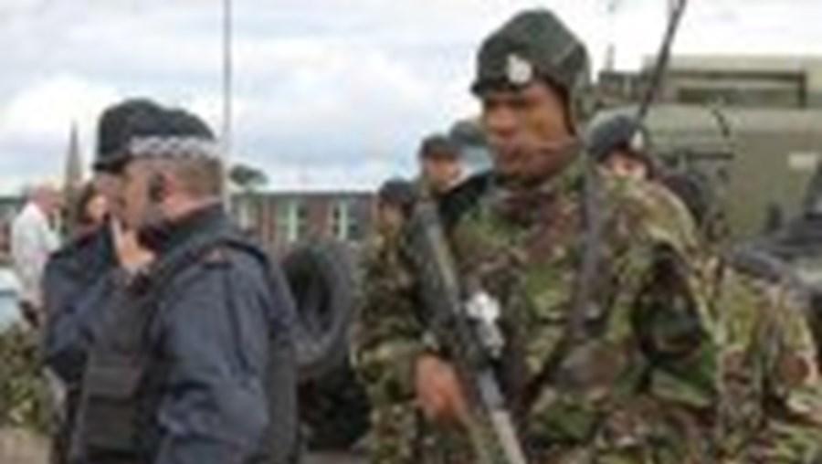 Mais de 300 mil  militares britânicos passaram pelo Ulster